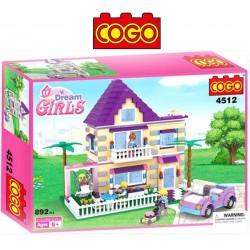 Casa de Verano - Juego de Construcción - Cogo Blocks - 892 piezas