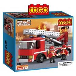 Camion de Bomberos - Juego de Construcción - Cogo Blocks - 220 piezas