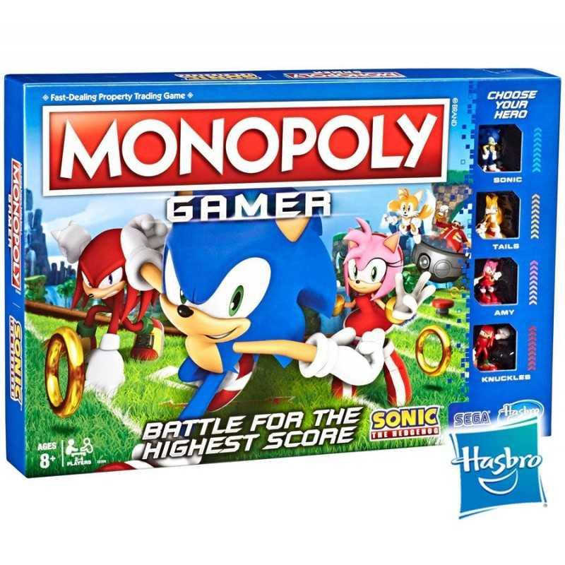 Monopoly Gamer Sonic the Hedgehog - Hasbro