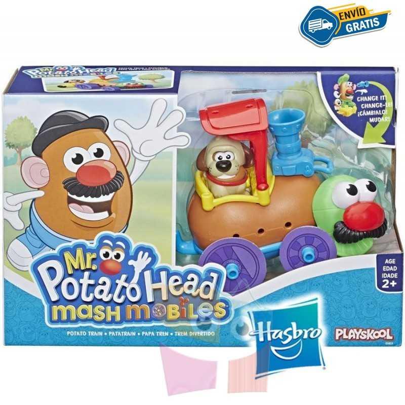 Tren Sr. Cara de Papa - Playskool - Hasbro