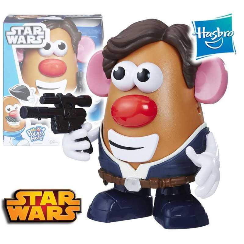 Sr. Cara de Papa Han Solo - Star Wars - Playskool - Hasbro