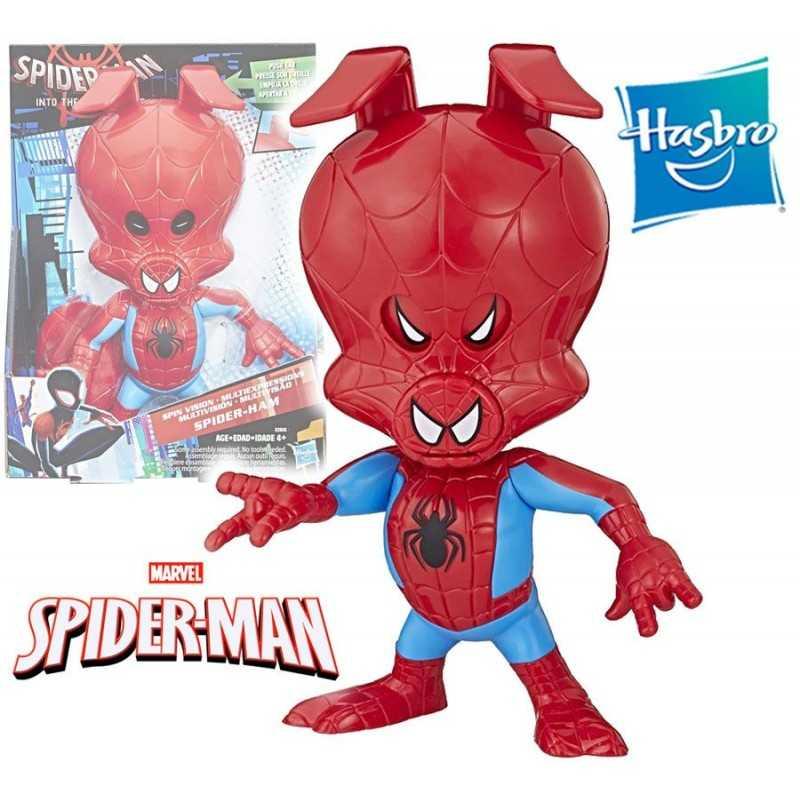 Muñeco Spider-Ham 21 cms - Hasbro - Into the Spider-Verse