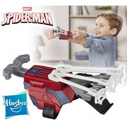 Lanzador Web Shots Gear Scatterblast Blaster - Spider-Man: lejos de casa - Hasbro