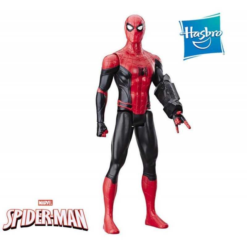 Muñeco Spider-Man: Lejos de casa - 30 cms - Hasbro - Titan Hero Power FX