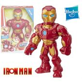 Muñeco Iron Man 25 cms - Hasbro - Mega Mighties Playskool Heroes