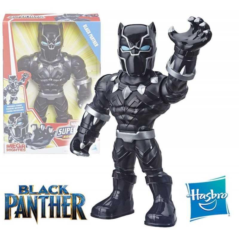 Muñeco Pantera Negra 25 cms - Hasbro - Mega Mighties Playskool Heroes