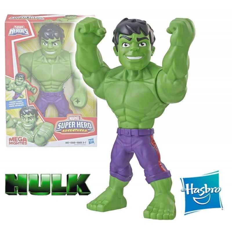 Muñeco Hulk 25 cms - Hasbro - Mega Mighties Playskool Heroes