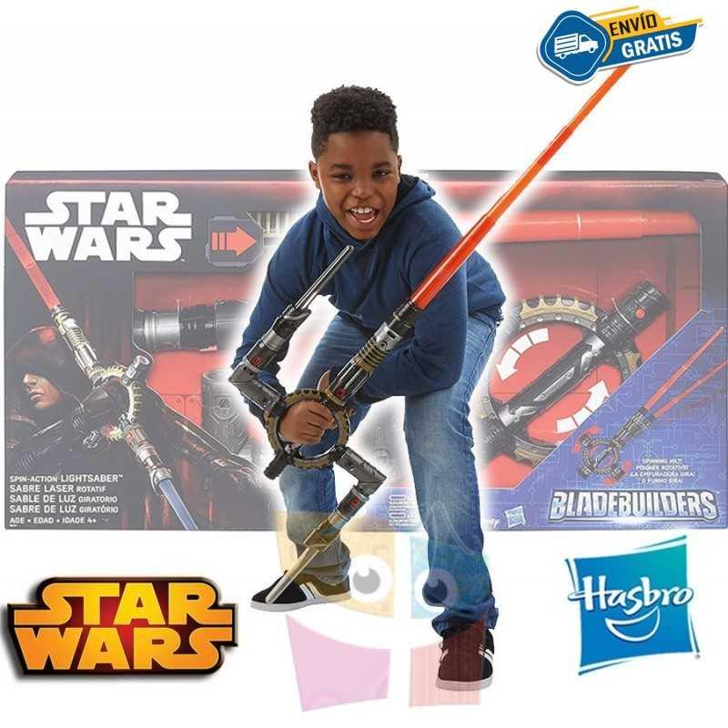 Sable de Luz Electronico Giratorio - Star Wars - Hasbro