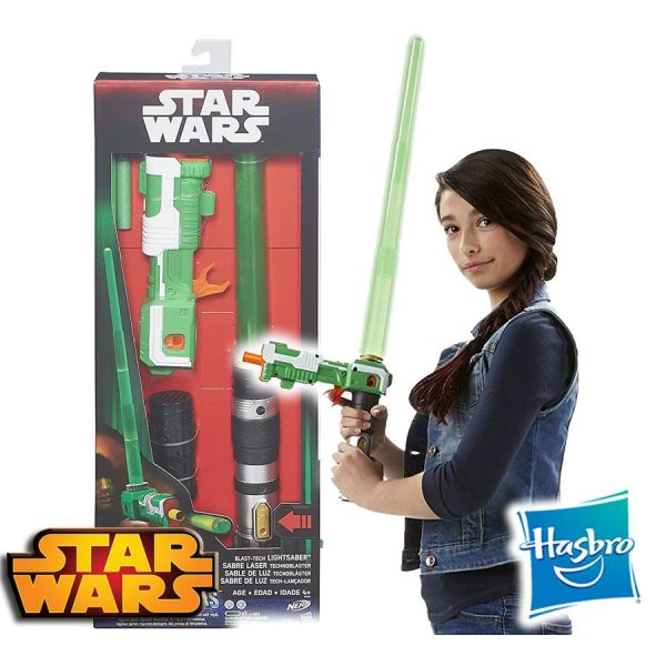 Sable de Luz con Lanzador - Star Wars Rogue One - Nerf - Hasbro - Blast Tech
