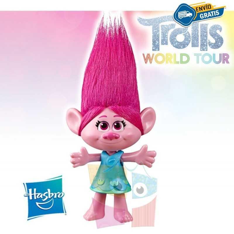 Muñeca Poppy - Trolls: World Tour - Hasbro