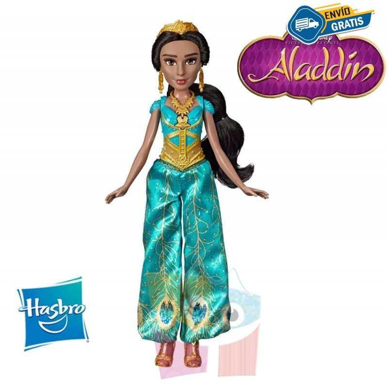 Muñeca Jasmin Musical - Aladdin Disney - Hasbro - Fashion Doll
