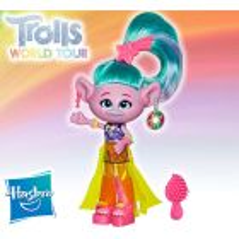 Muñeca Satín Glamour - Trolls: World Tour - Hasbro