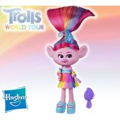 Muñeca Poppy Glamour - Trolls: World Tour - Hasbro
