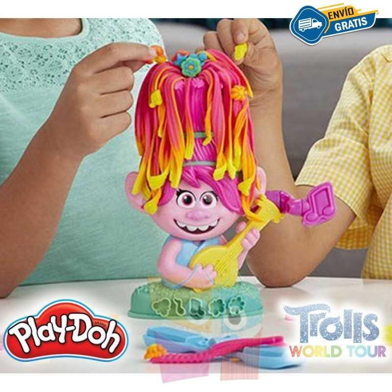 Poppy Cabello Arcoiris - Trolls: World Tour - Play-Doh - Hasbro