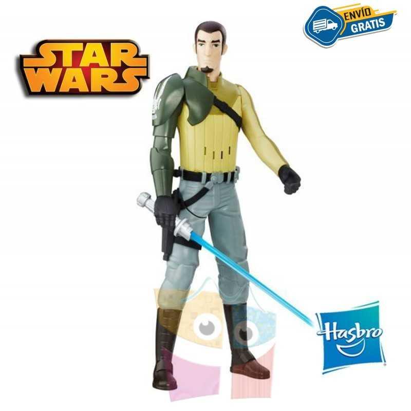 Kanan Jarrus Figura Electronica - Star Wars: Rebels - Hasbro