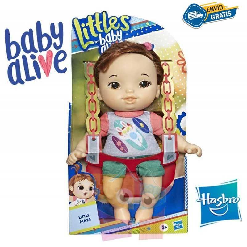 Pequeña Maya - Baby Alive - Hasbro - Littles Squad