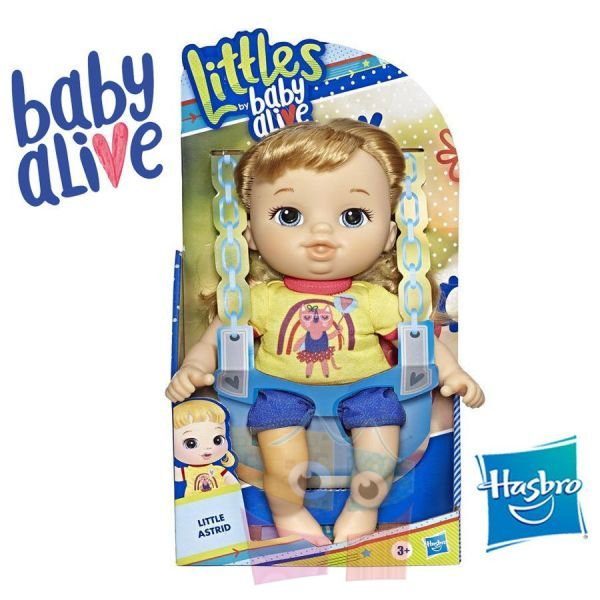 Pequeña Astrid - Baby Alive - Hasbro - Littles Squad