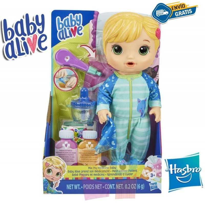 Bebe Prepara mi Medicina Rubia - Baby Alive - Hasbro