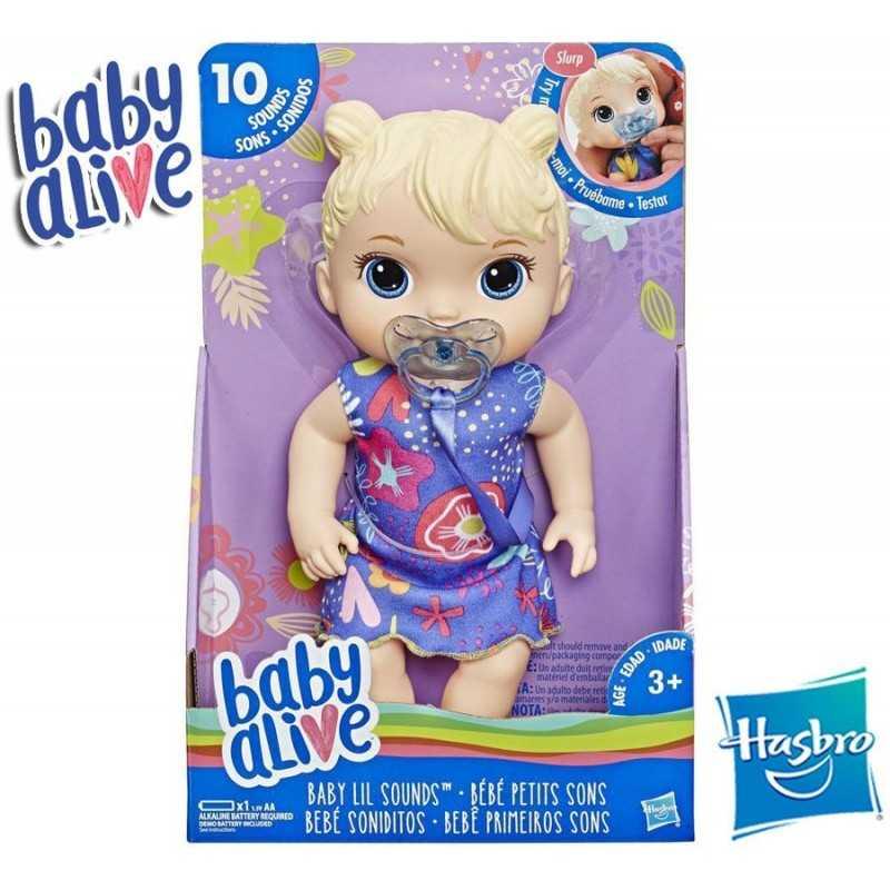 Bebe Soniditos Rubia - Baby Alive - Hasbro