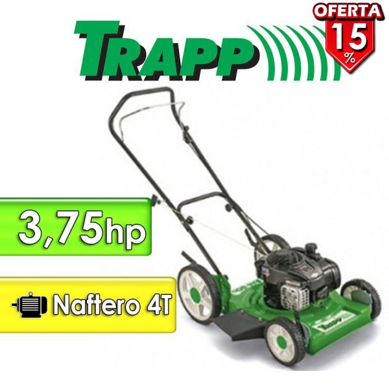 Corta Pasto Trapp - RM80G - Motor naftero 4T