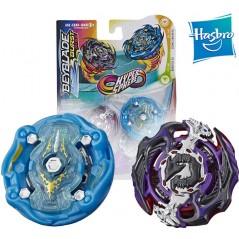 Beyblade Burst Rise Hypersphere Pack Doble - Cosmic Kraken K5 y Gargoyle G5 - Hasbro