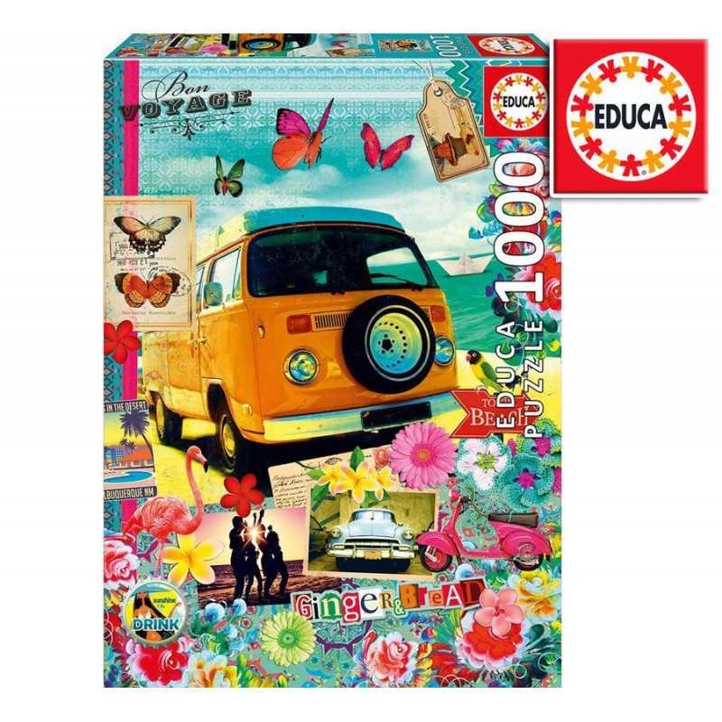 Rompecabezas Buen Viaje de 1000 piezas - Educa