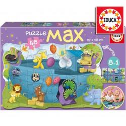 Puzzle MAX - El Arca de Noé - Rompecabezas de Suelo - Educa