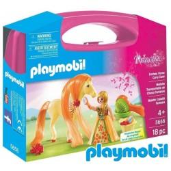 Maletín de Princesa con Caballo de pelo largo - Playmobil