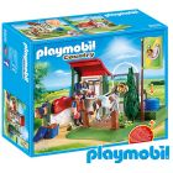 Set de limpieza de caballos - Playmobil