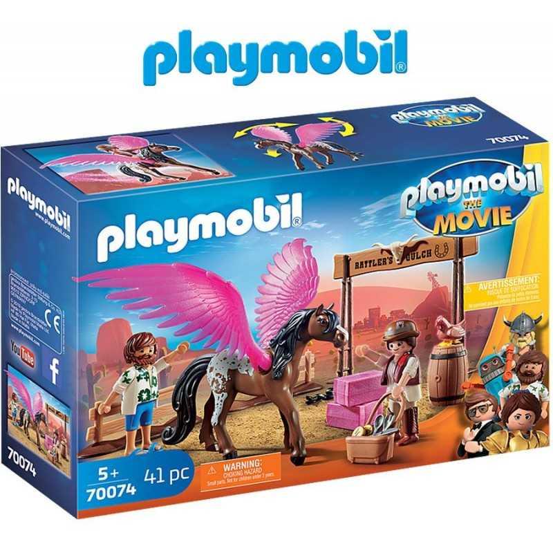 Marla, Del y Caballo con Alas - Playmobil - La Película