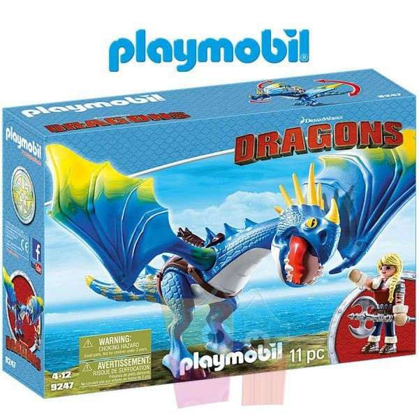 Astrid y Tormenta - Playmobil - Dragons