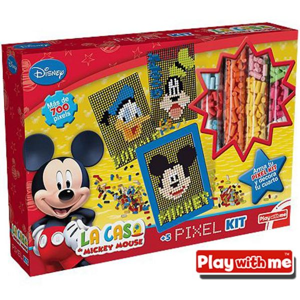 La Casa de Mickey Mouse Pixel Kit - Play With Me - PlayValue