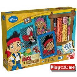 Jake y los Piratas Pixel Kit - Play With Me - PlayValue