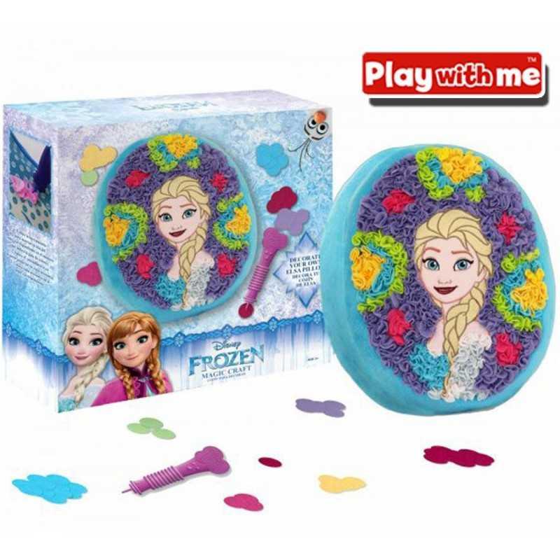 Magic Craft ELSA Frozen - Decora tu almohadon - Play With Me - PlayValue