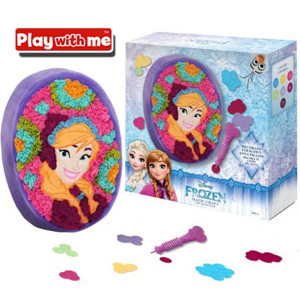 Magic Craft ELSA Frozen - Decora tu almohadon - Play With Me - PlayValue