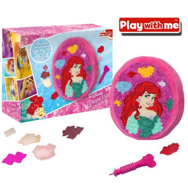 Magic Craft Ariel La Sirenita Frozen - Decora tu almohadon - Play With Me - PlayValue