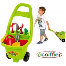 Carrito de Jardinería con Herramientas - Ecoiffier