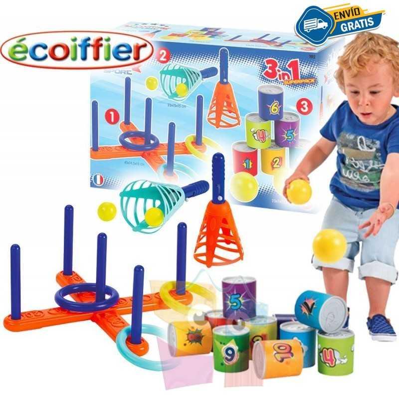 Pack 3 Juegos - Ecoiffier