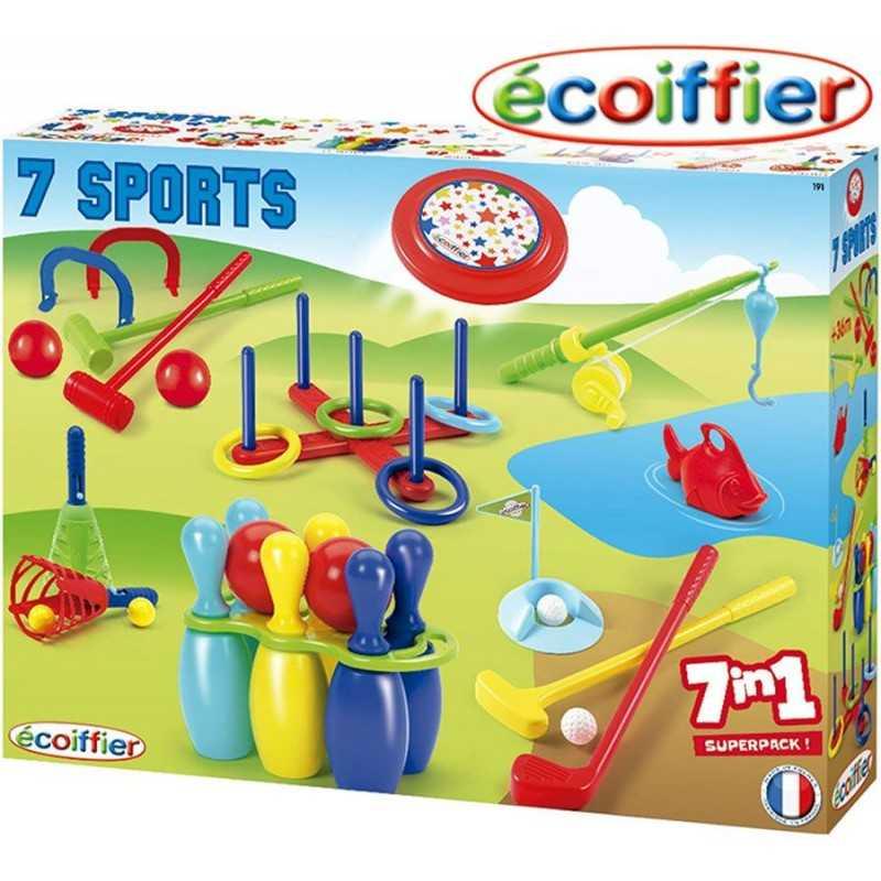 Pack 7 Juegos - Ecoiffier