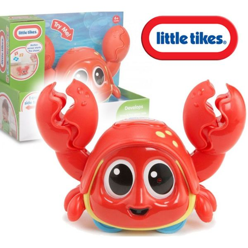 Cangrejo Interactivo Atrápame Crabbie - Little Tikes