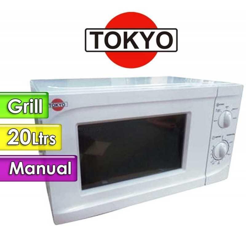 Microondas Tokyo - 20 Ltrs - TOK20GPZ - Con grill
