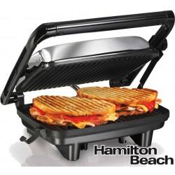 Grill Sandwichera - Hamilton Beach - Panini Press Gourmet - 25460