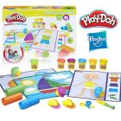Aprendo Texturas, Colores y Herramientas - Play-Doh - Hasbro