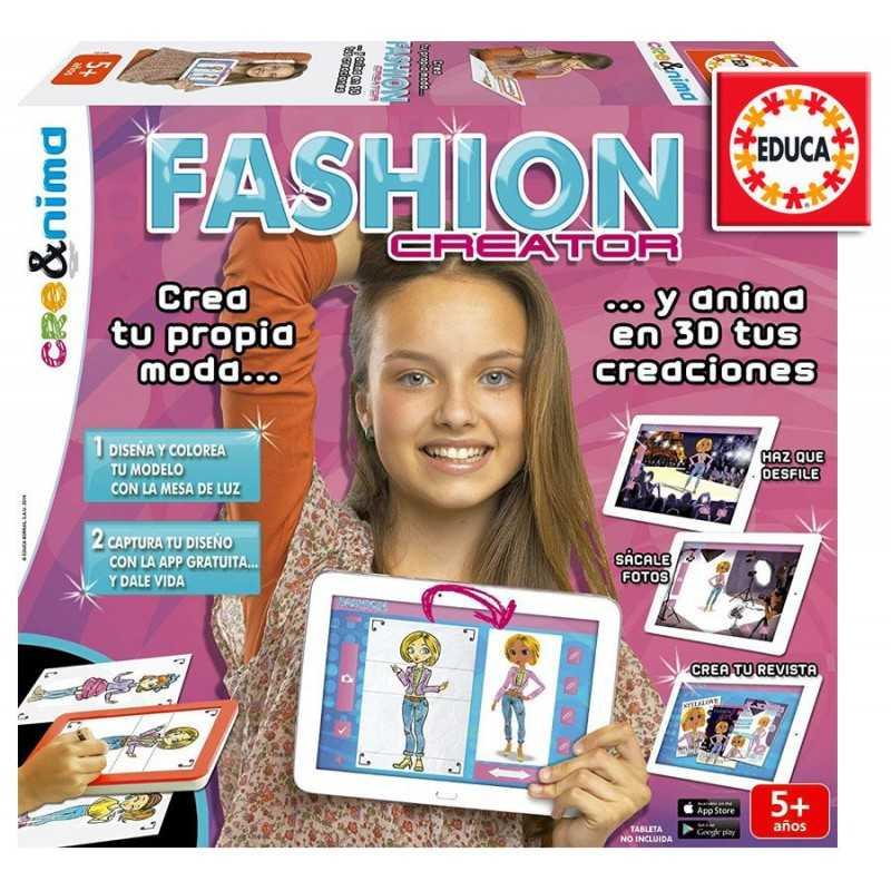Fashion Creator - Juego Creativo de Moda - Educa