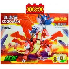 Cogo Man - Juego de Construcción - Cogo Blocks - 287 piezas