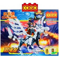 Cogo Man - Juego de Construcción - Cogo Blocks - 266 piezas