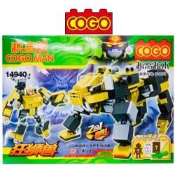 Cogo Man - Juego de Construcción - Cogo Blocks - 241 piezas