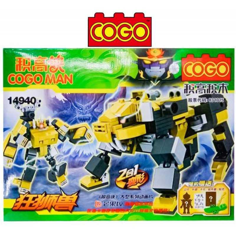 Cogo Man - Juego de Construcción - Cogo Blocks - 147 piezas