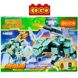 Cogo Man - Juego de Construcción - Cogo Blocks - 197 piezas