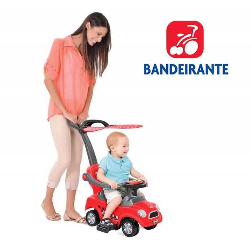 Autito Paso a Paso Paseo Sport Rojo - Bandeirante - 1017